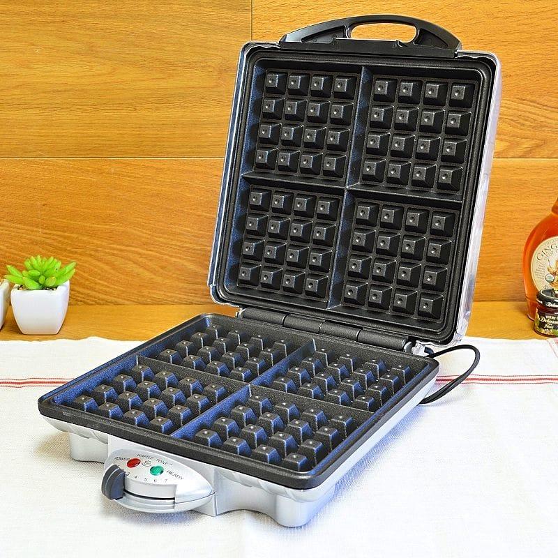 クチーナプロ ワッフルメーカー 四角 4枚焼CucinaPro 1452 Belgian 4 Square Waffle Iron 家電