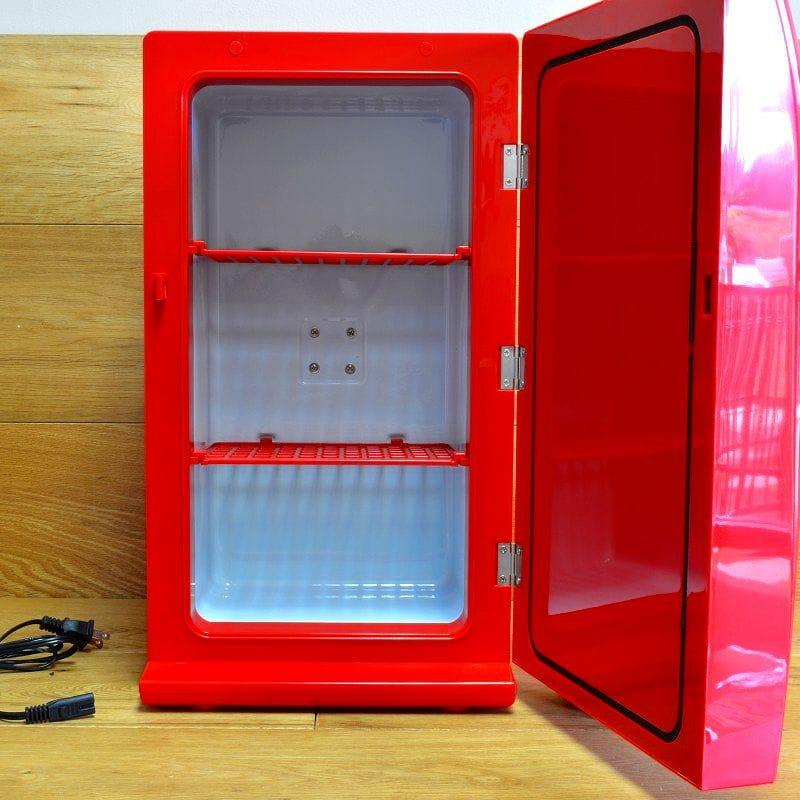 可口可樂復古冰箱 28 罐可口可樂 CCR 12 復古冰箱,紅色