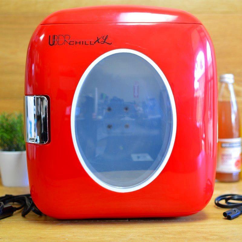 保冷庫 冷蔵庫 コンパクト レトロ 保温 切替 9L 12缶 Uber Appliance UB-XL1 Chill 12 can 9 Liter retro personal mini fridge for bedroom 家電