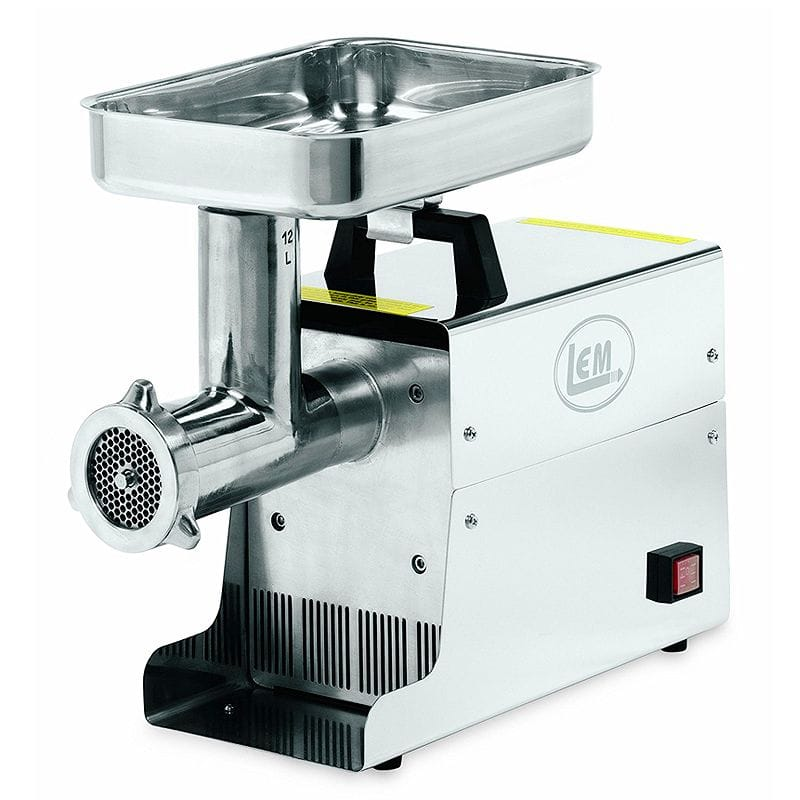 ミートグラインダー 電動挽肉機 ミンチ LEM Products .75 HP Stainless Steel Electric Meat Grinder 家電