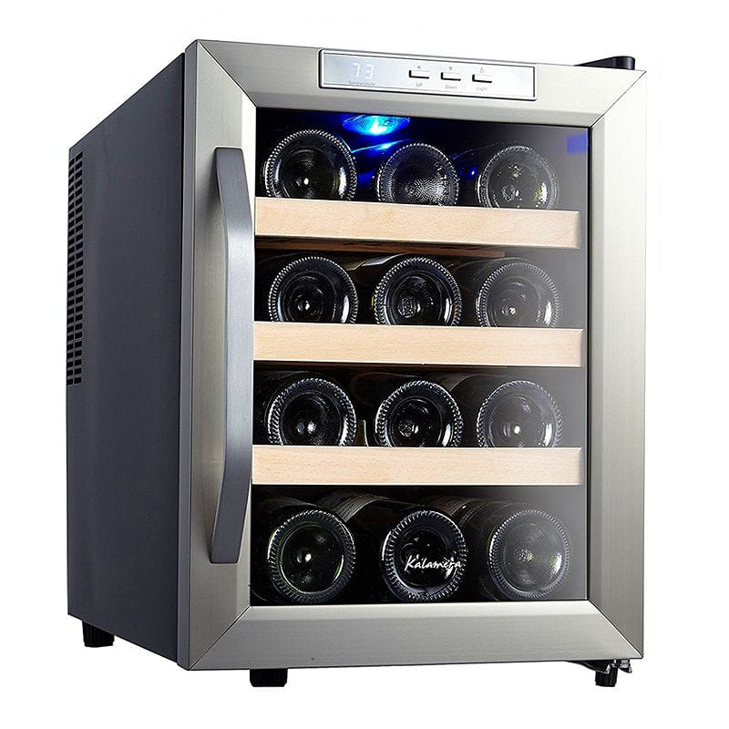 ワインセラー カウンタートップ Kalamera Counter Top Stainless Steel Wine Cooler Refrigerator 家電