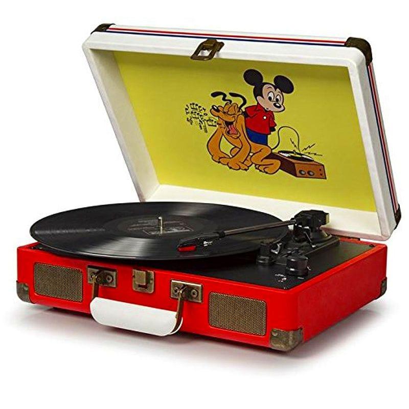 クロスリー クルーザー ポータブル ターンテーブル ディズニー Crosley CR8005A-DS Cruiser Portable 3-Speed Turntable, Disney 家電