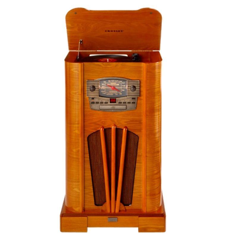 クロスリー ターンテーブル コンソール CD Crosley Turntable Console CD CR44CD 家電