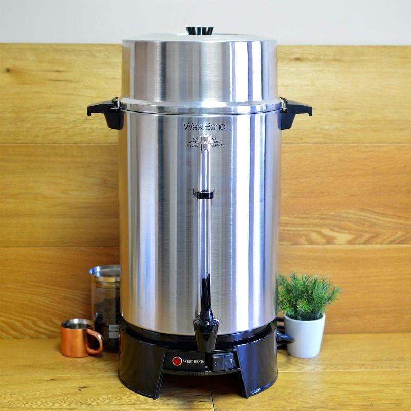 ウエストベンド コーヒーメーカー パーティ ホテル用 West Bend 33600 100-Cup Commercial Coffee Urn 家電