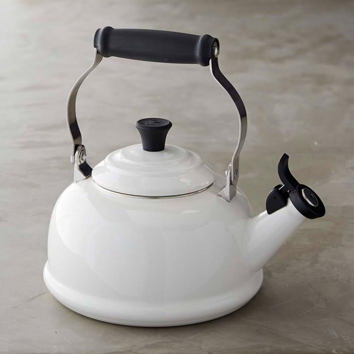 ウイリアムズ・ソノマ限定品 ル・クルーゼ 笛吹き エナメルスチール クラシック ティーケトル 1.7L IH対応 Williams-Sonoma Le Creuset Classic Tea Kettle