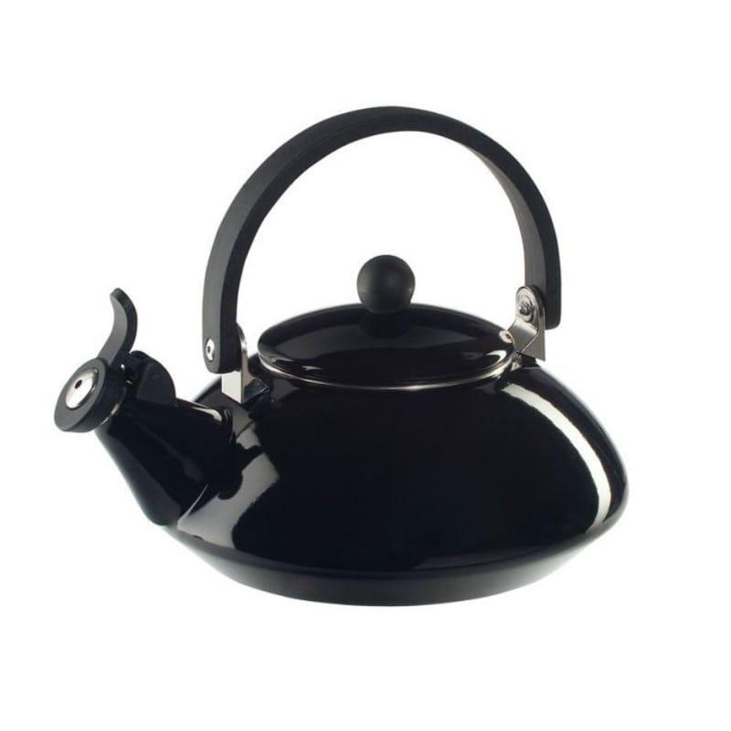 ルクルーゼ ゼン 笛吹きケトル やかん ブラック 黒 1.5L Le Creuset Zen Enamel-On-Steel Kettle Black