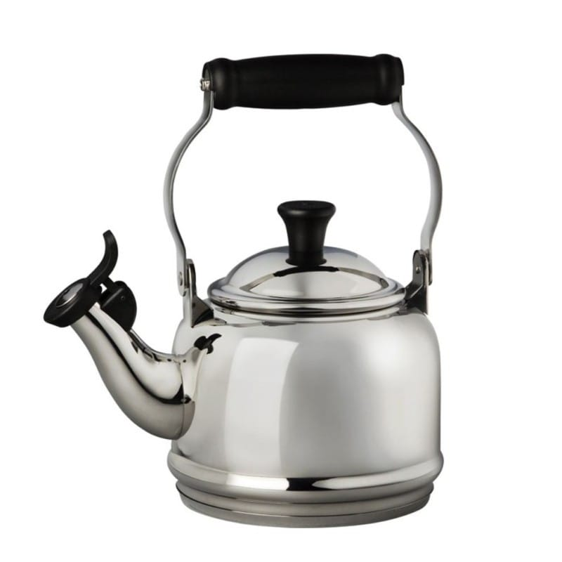 ルクルーゼ デミ 笛吹きケトル やかん ステンレス 1.1L Le Creuset 1.2 Quart Stainless Steel Demi Tea Kettle