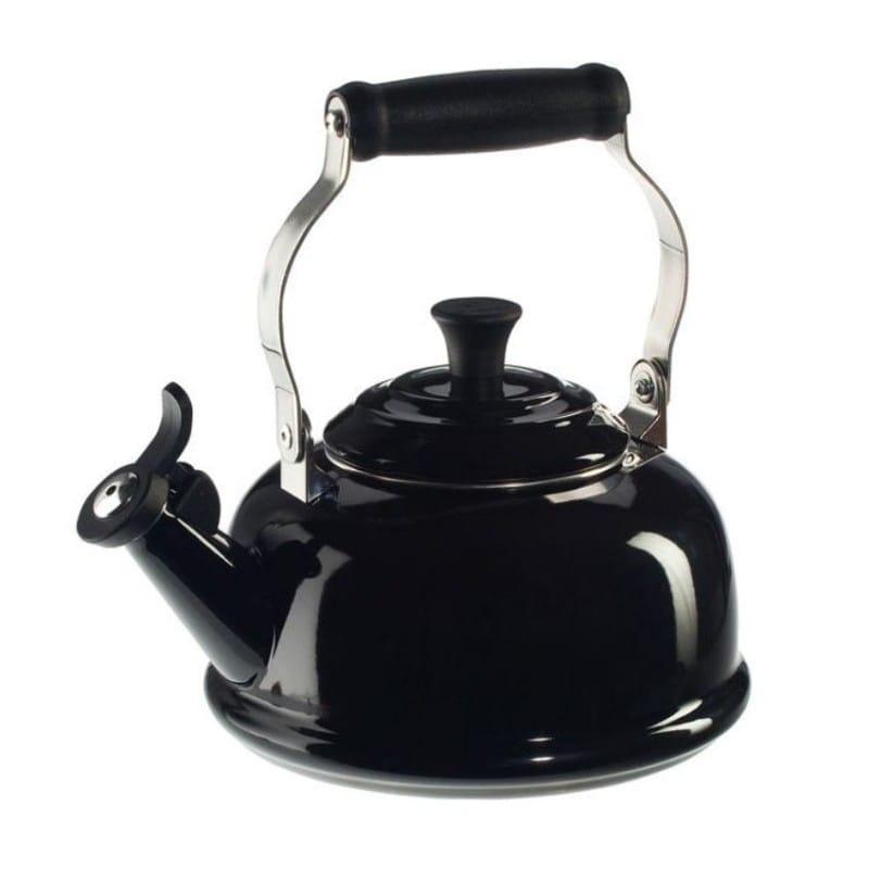 ルクルーゼ クラシック 笛吹きケトル やかん ブラック 黒 1.6L Le Creuset 1.8-Qt Enamel on Steel Classic Whistling Teakettle Black