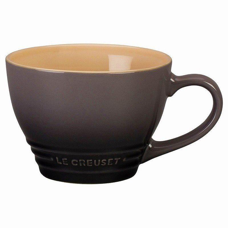 ルクルーゼ スープボウル ビストロマグ 414ml オイスター グレー 2個セット Le Creuset Stoneware Bistro Mug, 14 oz, Oyster