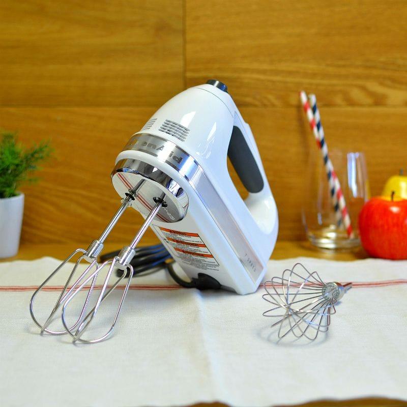 キッチンエイド ハンドミキサー 7スピードKitchenAid 7-Speed Hand Mixer KHM7210WH 家電