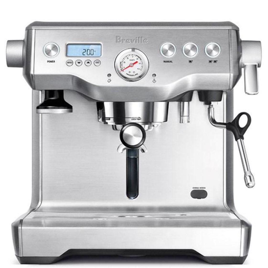 エスプレッソマシン 業務レベル メーカー ブレビル コーヒーメーカー カプチーノ ラテ 本格 ダブルボイラー Breville BES920XL Dual Boiler Espresso Machine 家電