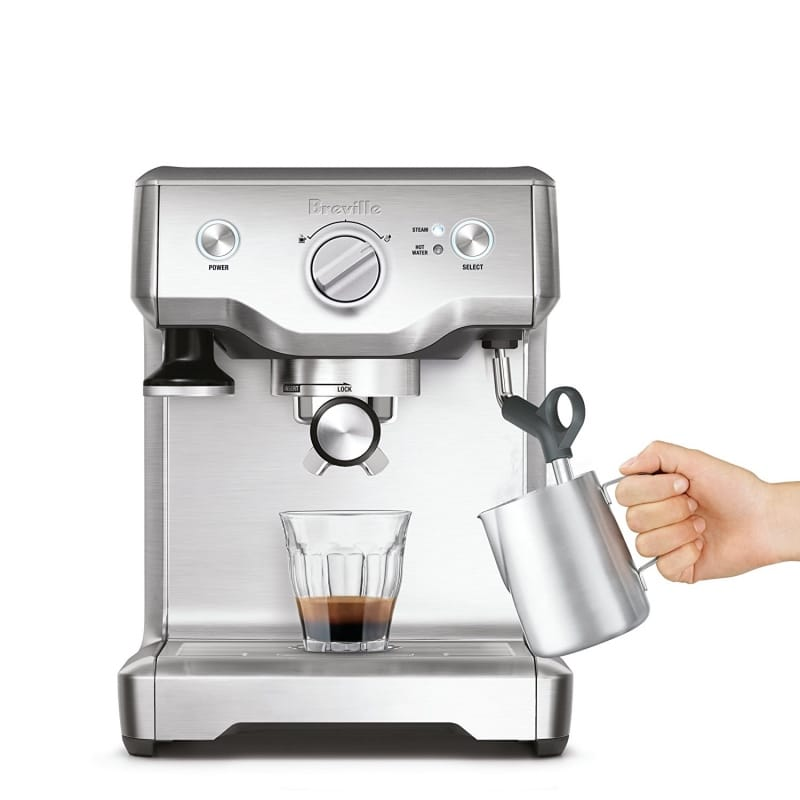 ブレビル エスプレッソマシン BES810BSS Breville Duo Temp Pro Espresso Machine 家電