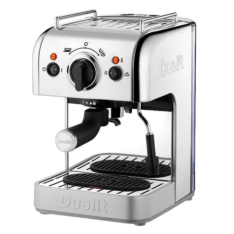 デュアリット エスプレッソマシン Dualit 4-in-1 Multi-Brew Espresso Machine with Bonus NX Adapter 家電