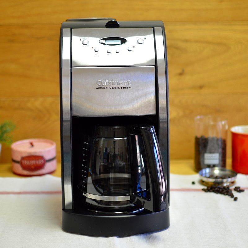 クイジナート コーヒーメーカー ガラスカラフェ 豆挽き付 12カップ Cuisinart DGB-550BK Grind-and-Brew 12-Cup Coffeemaker 家電