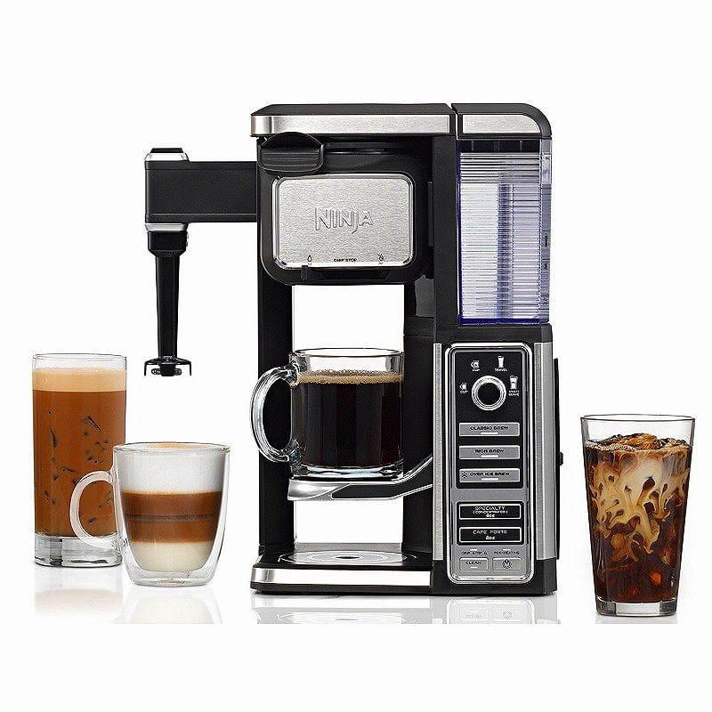 ニンジャ シングルサーブ コーヒーバー コーヒーメーカー ミルク泡立て機能付 Ninja Coffee Bar Single-Serve System with Built-In Frother CF112 家電
