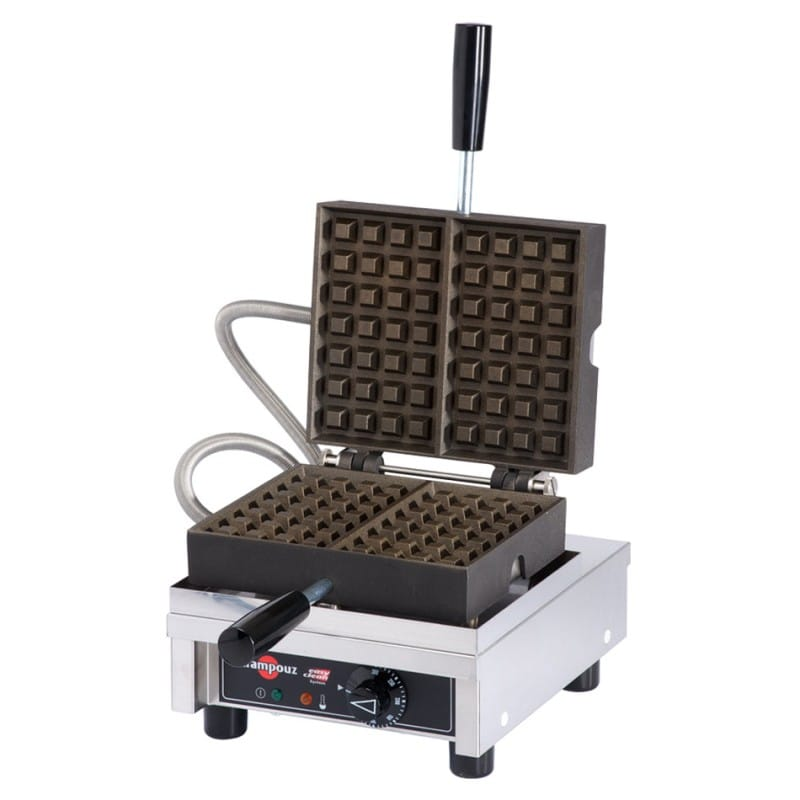 業務品質 ワッフルメーカー くぼみ4×7個 クランプーズ社 Krampouz WECCHCAS Liege Style Belgian Waffle Maker - 4 x 7 家電