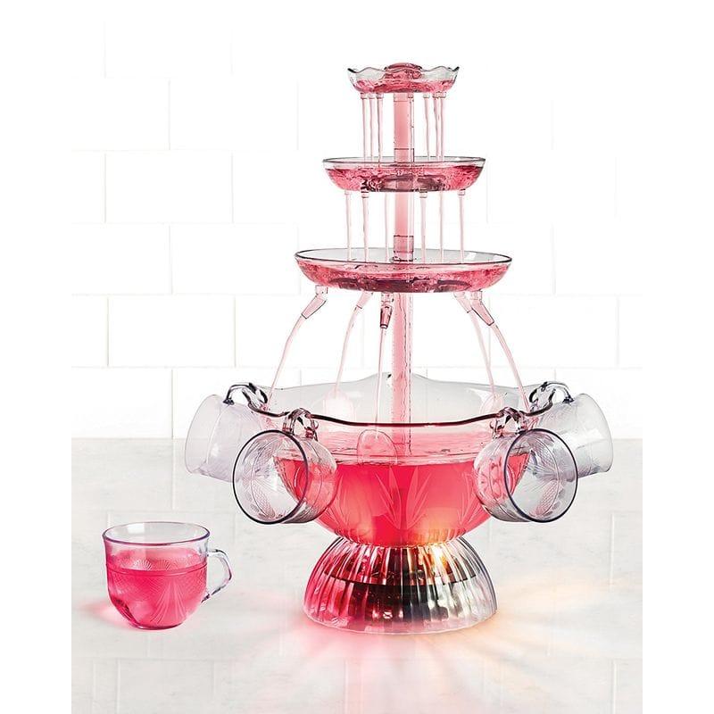 ジュースファウンテン ノスタルジア パーティー イルミネーション Nostalgia LPF150 Vintage Collection Lighted Party Fountain 家電
