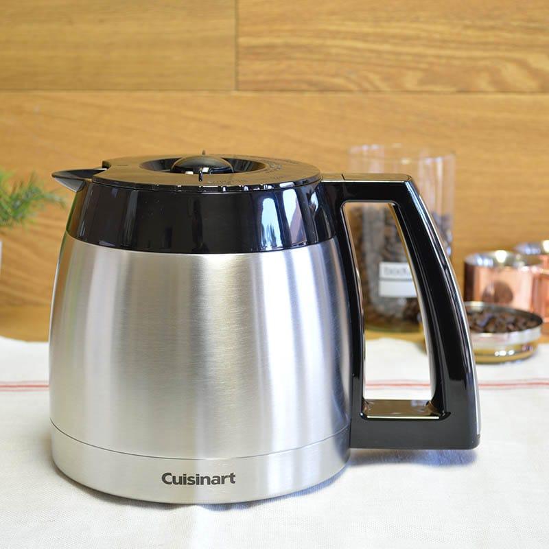 クイジナート コーヒーメーカー用 パーツ 部品 ステンレスカラフェ DGB-900PCJ2に適合 Cuisinart DCC-2400RC 12-Cup Stainless Thermal Carafe