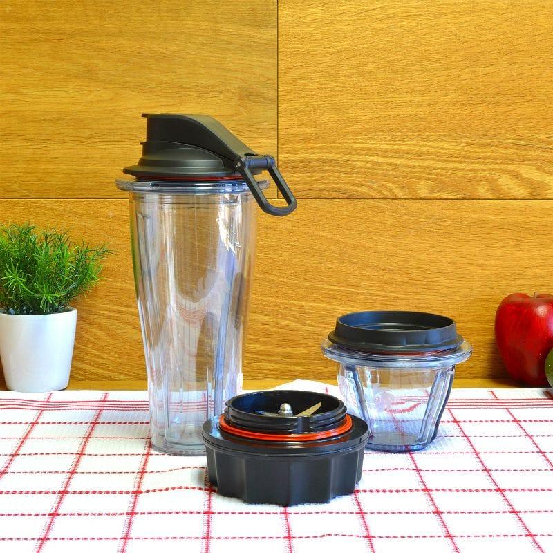 バイタミックス Ascentシリーズ用 ブレンディングボウル&カップ ブレードセット Vitamix Blending Bowl & Blending Cup Starter Kitt【日本語説明書付】