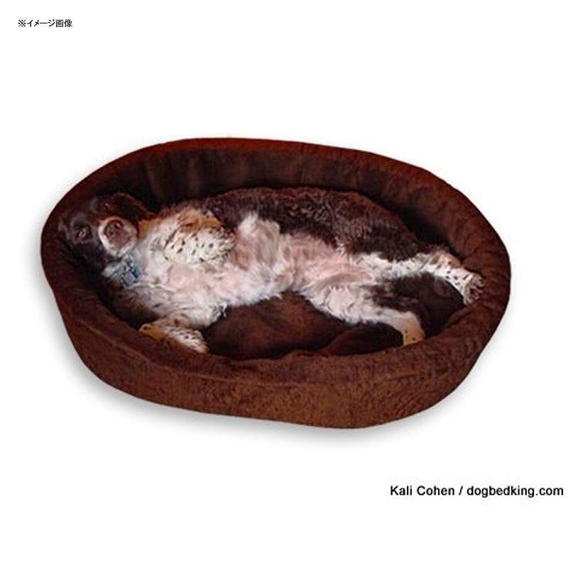 カドラー ドッグベッドキング ペット 犬 アメリカ製 Dog Bed King USA Brown Imitation Lambswool Pet Bed