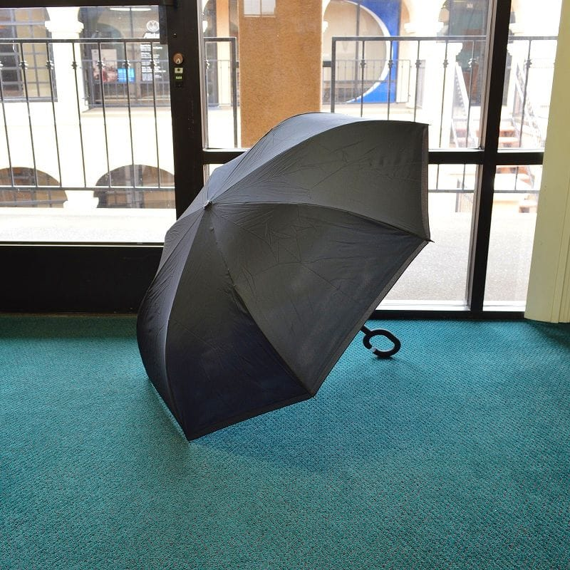 Alphaespace Inc..: Upside-down Umbrella Casa Rain Or Shine