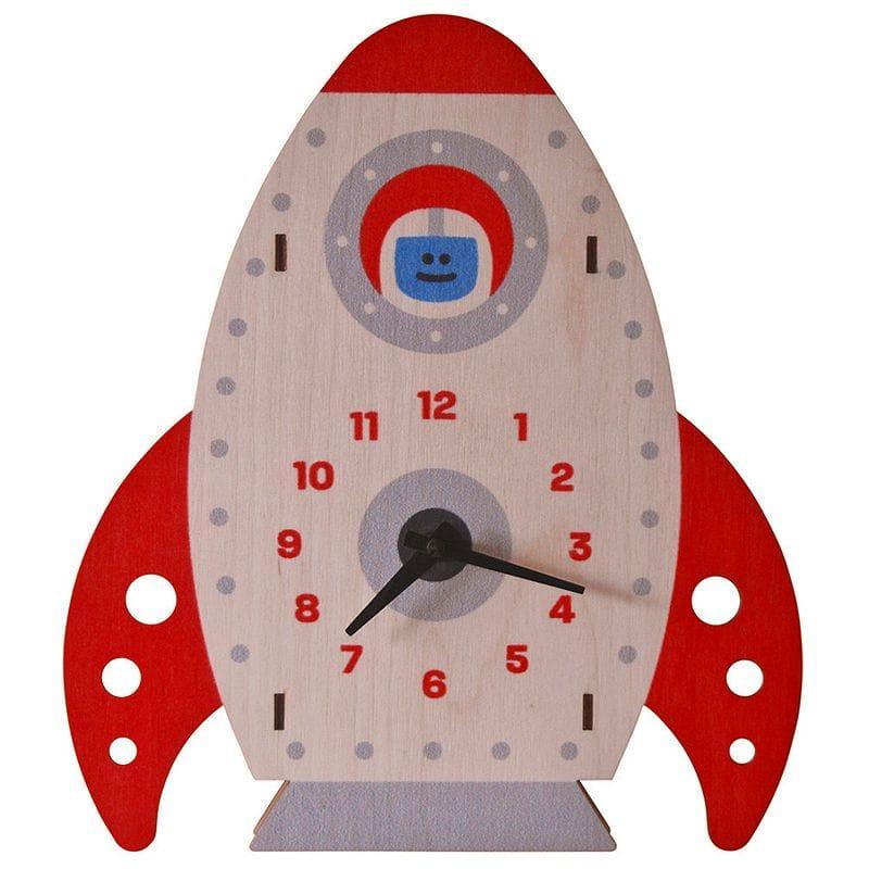 ウォールクロック 木製 壁掛け時計 ロケット Modern Moose Rocket Wall Clock