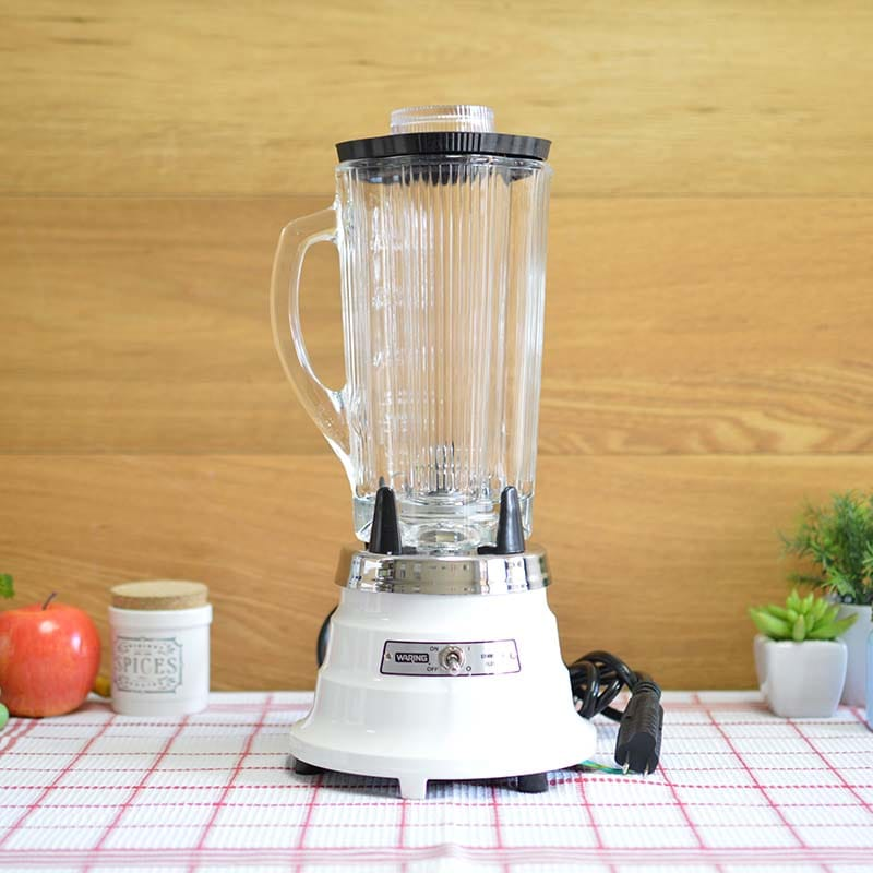 業務品質 ワーリング ブレンダー ミキサー 1.2L Waring 700G Single-Speed Food Blender with 40-oz. Glass Container 家電