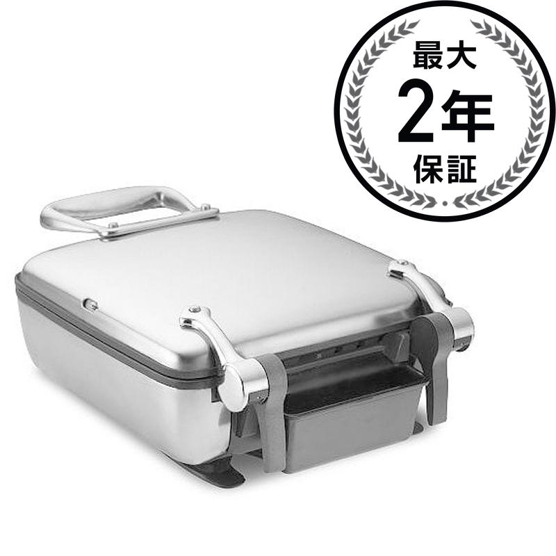 オールクラッド ワッフルメーカー 4枚焼 All-Clad Stainless Steel Belgian Waffle Maker with 7 Browning Settings, 4-Square 家電