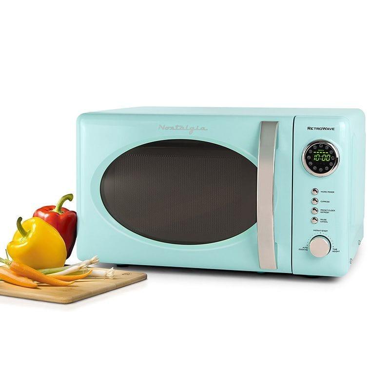 ノスタルジア レトロ電子レンジ Nostalgia Retro 0.7 Cubic Foot Microwave Oven 家電