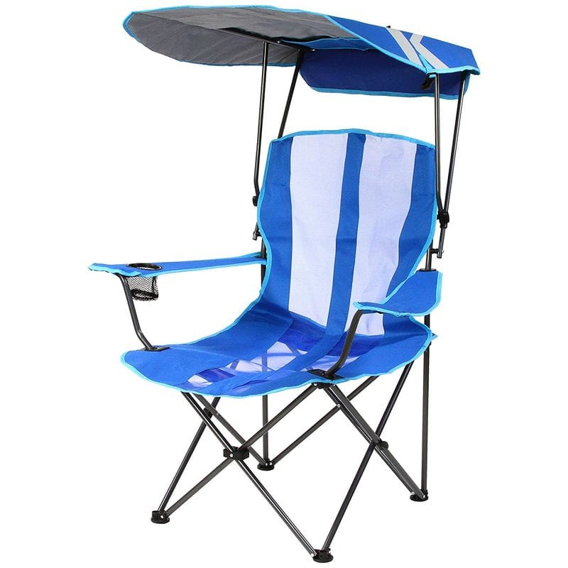 Alphaespace Umbrella Folding Chairs Tan Measures Beach