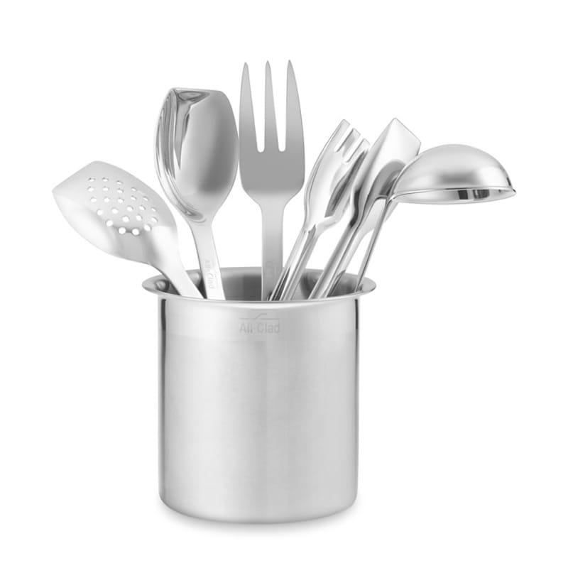 ウイリアムズ・ソノマ オールクラッド ステンレス キッチン サーブ ツール6点セット Williams-sonoma All-Clad Cook Serve Stainless-Steel Tools, Set of 6