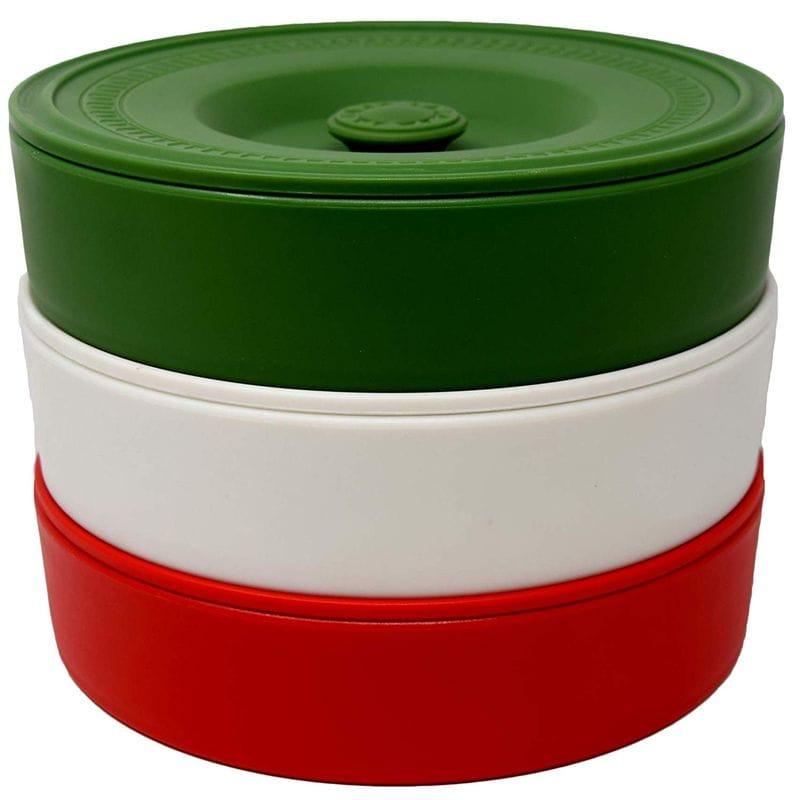 本格メキシカン トルティーヤ ウォーマー ケース 3色セット 直径20cm Fiesta Tortilla Warmers 3 pack - 8 Inch Tortilla Warmer/Tortilla Holder - Green, White, Red