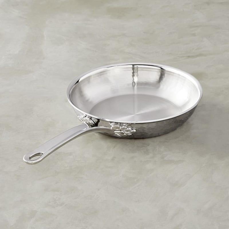 ウイリアムズ・ソノマ イタリア ルフォーニ ステンレス製 フライパン 20cm williams-sonoma Ruffoni Omegna Hammered Stainless-Steel Fry Pan 8