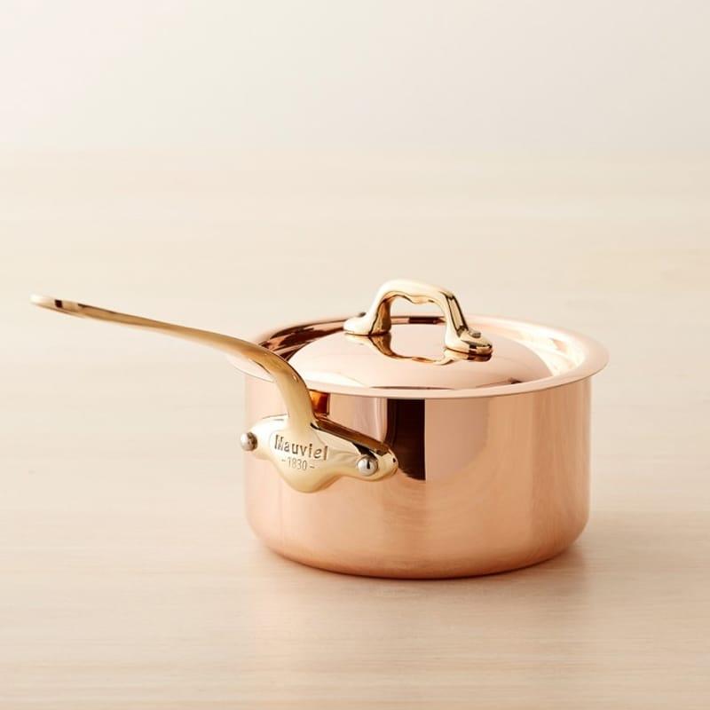 ウイリアムズ・ソノマ フランス ムヴィエール 銅製 ソースパン 片手鍋 Williams-sonoma Mauviel Copper Saucepan