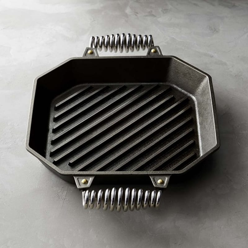 【30日間返金保証】【送料無料】 ウイリアムズ・ソノマ フィネックス 鉄製 グリルパン Williams-sonoma FINEX Cast-Iron Double-Handle Grill Pan