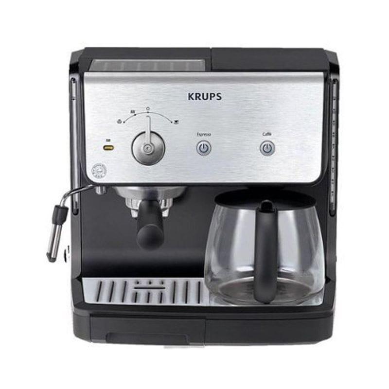 海外向け 220V 240V クラップス エスプレッソ カプチーノメーカー コーヒーメーカー ガラスカラフェ 10カップ KRUPS XP2000 ESPRESSO & CAPPUCCINO MAKER 家電