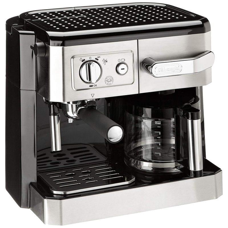 海外向け 220V 240V デロンギ エスプレッソメーカー コーヒーメーカー ガラスカラフェ 10カップ DELONGHI BCO420 ESPRESSO COFFEE MAKER 家電