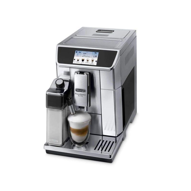 海外向け 220V 240V デロンギ プリマドンナ エスプレッソマシーン ダブルボイラー Delonghi Prima Donna Elite Super Automatic Espresso Machine with Double Boiler ECAM65075 家電