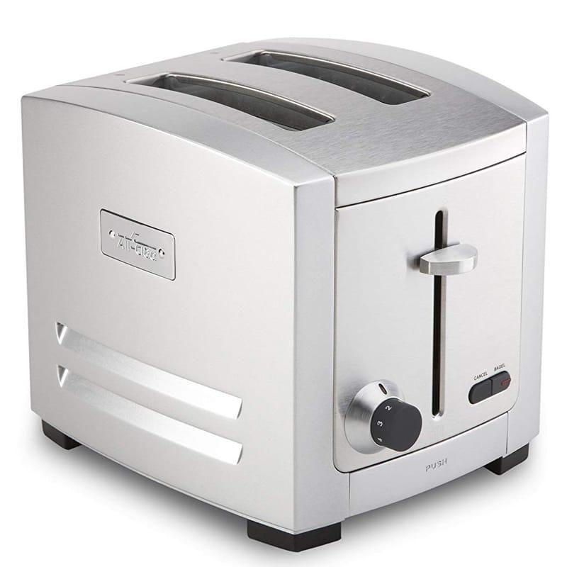 オールクラッド ステンレス トースター 2枚焼 焼き色調節 ベーグル All-Clad 1500578130 TJ802D 2-Slot Toaster