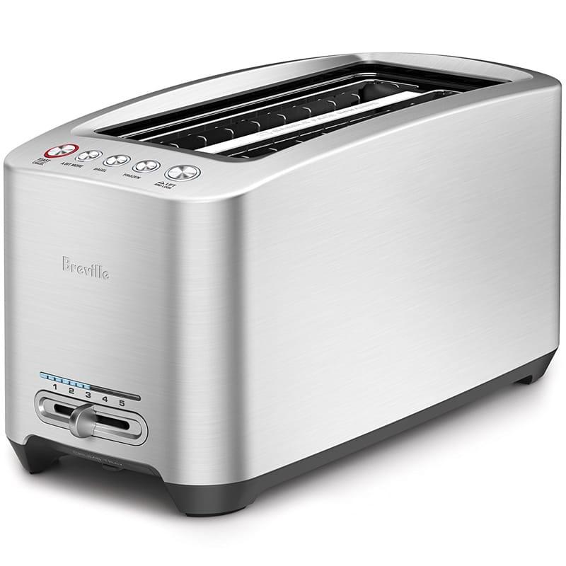 ブレビル スマート トースター Breville Die-Cast 4-Slice Long Slot Smart Toaster BTA830XL 家電