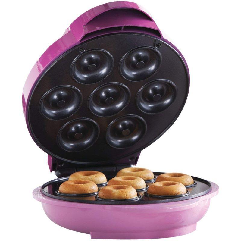 ミニドーナツメーカー 7個 Brentwood Appliances TS-250 Electric Food (Mini Donut Maker), One-Size, Pink 家電