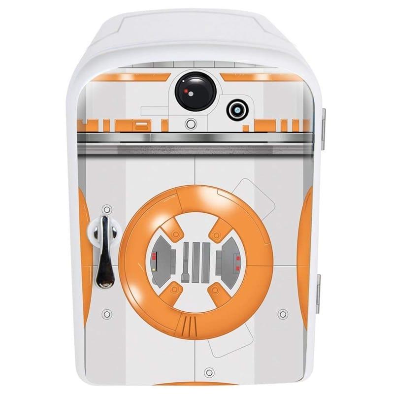 スターウォーズ BB-8 ミニ冷温庫 冷蔵庫 6缶 保温 車載可能 Star Wars New World Premier Bb8 4 Liter Mini Fridge 家電