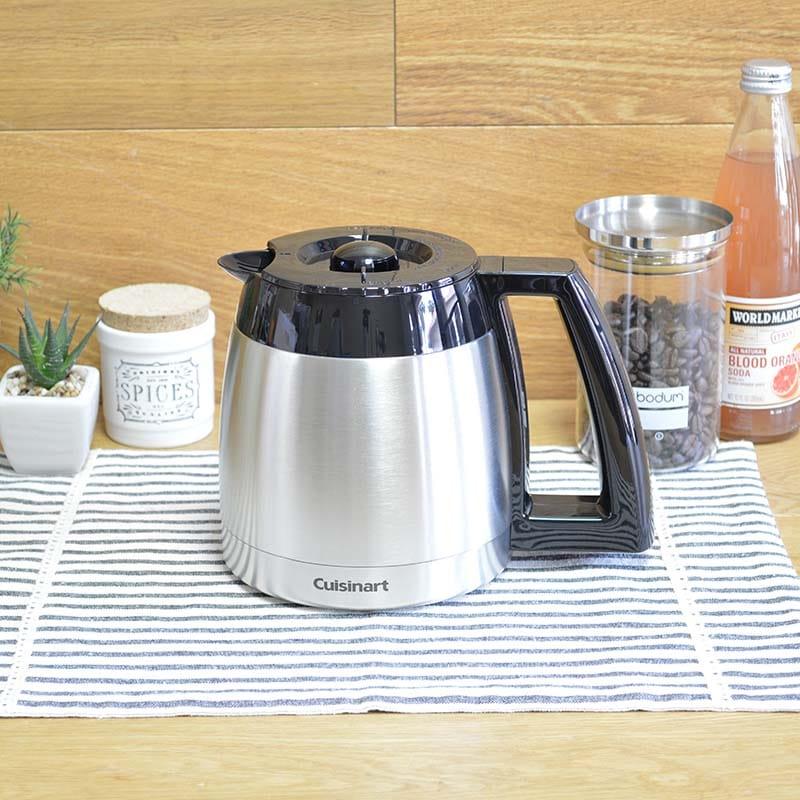 クイジナート コーヒーメーカー用 パーツ 部品 ステンレスカラフェ DCC-650PCJに適合 Cuisinart Thermal Carafe for 10-Cup Coffeemakers DGB-600CRF