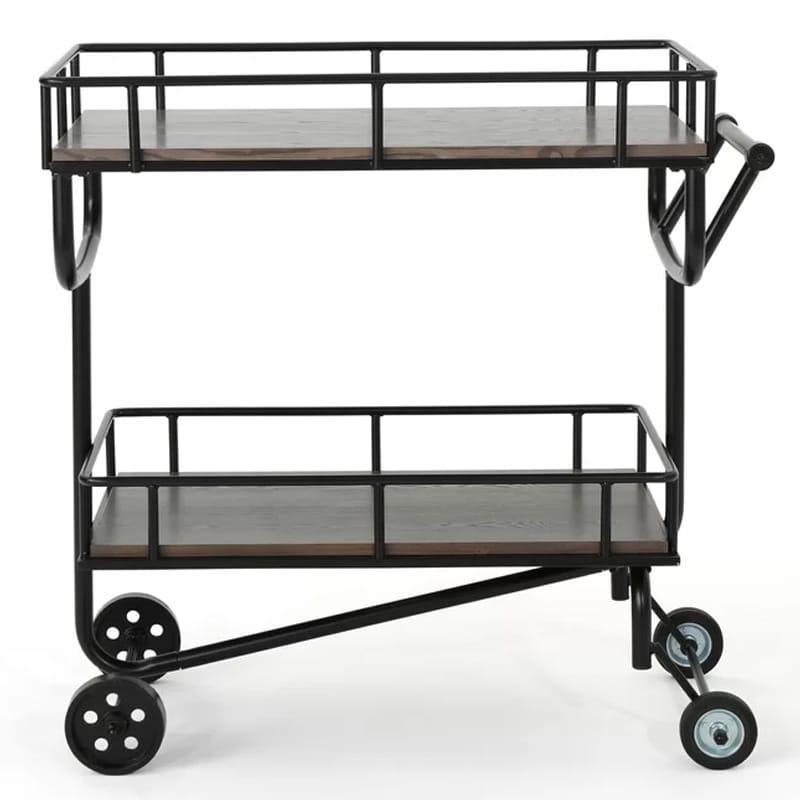 アンティーク レトロ バーカート 2段 Dierdre Bar Cart Williston Forge