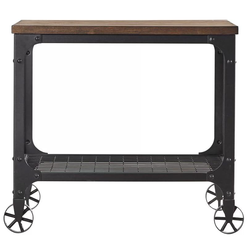 アンティーク ビンテージ レトロ バーカート 2段 Corvus Bar Cart