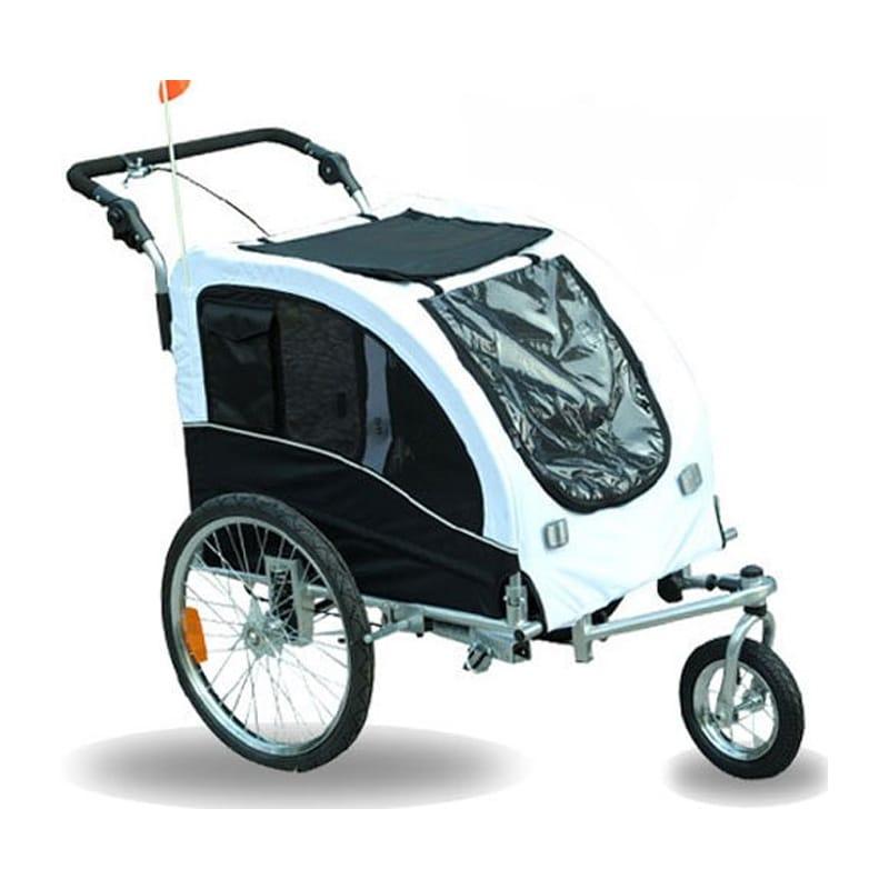 サイクルトレーラー 自転車用ペットカート ペットキャリー 犬や動物 Aosom Elite II Pet Dog Bike Bicycle Trailer Stroller Jogger w/ Suspension