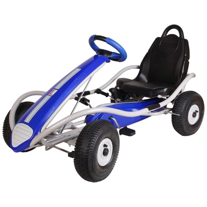 ケトラー ペダルカー ゴーカート レーサー 対象年齢5歳~ Kettler Kiddi-o by Dakar Racer S Pedal Car/Go Kart, Youth Ages 5+ 9981-050【代引不可】