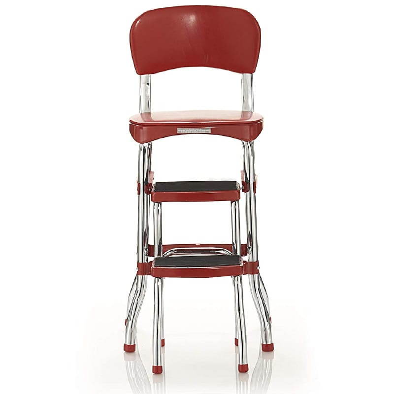 Ordinaire Cosco Counter Chair Step Stool Step Cosco Retro Counter Chair/Step Stool