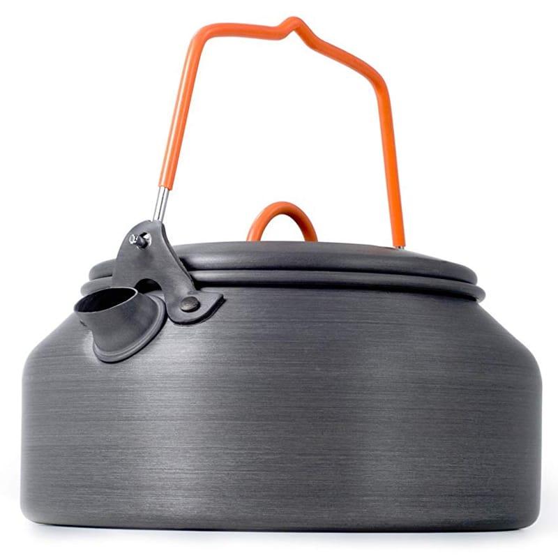 キャンプ用 アウトドア コンパクト アルミ製 ケトル 1.0L GSI Outdoors Tea Kettle HAE - 1 qt.
