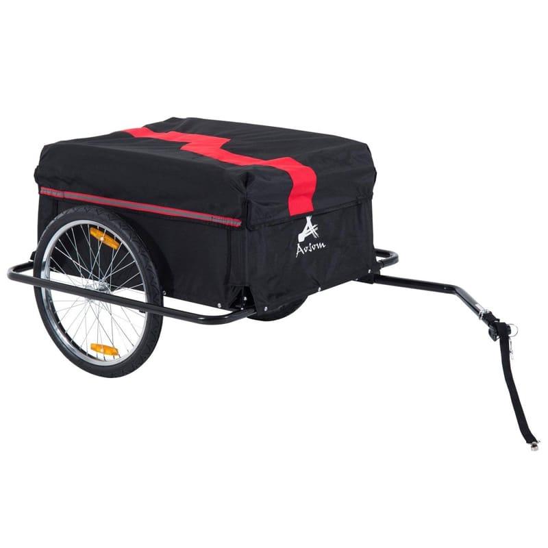 サイクルトレーラー 自転車用トレーラー Aosom Elite II Bike Cargo / Luggage Trailer